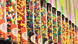 量り売りのお菓子売り場